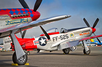 TF-51D and P-51D Mustangs - Bellingham, WA